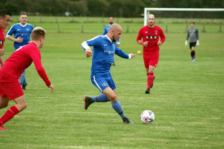 Nathan Greene will be in action for Merlins Bridge against Saundersfoot Sports