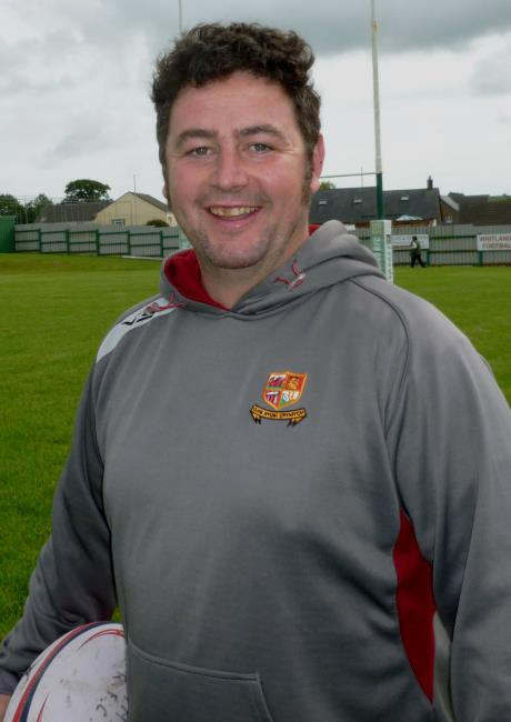 Crymych coach Randall Williams