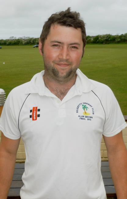 Ross Hardy - great all-round performance from Kilgetty captain