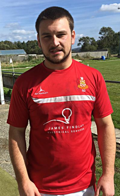 Sam Dolling - try-scoring No 8 for Milford Haven