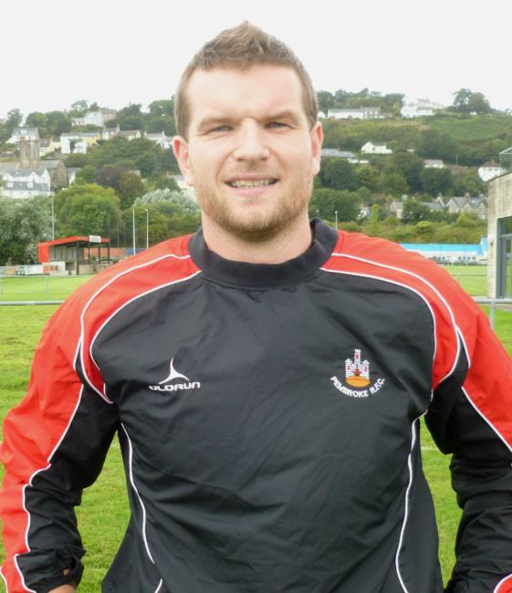 Toby Smith - another 27 points for Pembroke outside half
