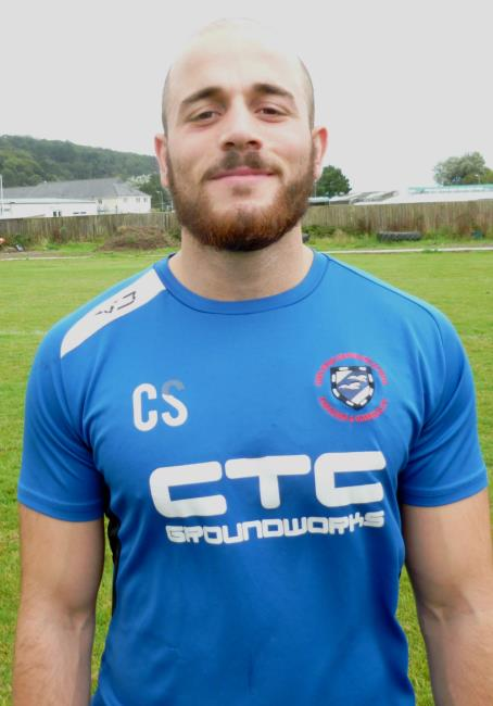 Chris Shousha - key try for Fishguard skipper