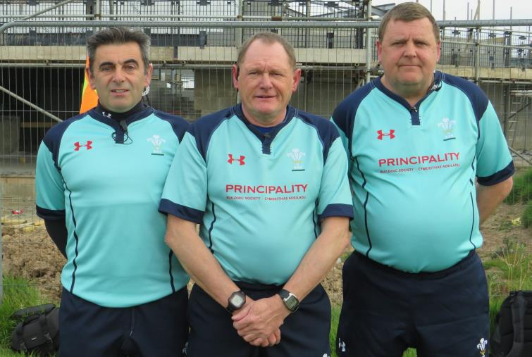 Griffiths Cup match officials
