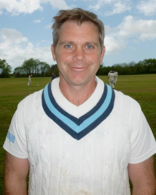 Richie Adams - batted well for Narberth