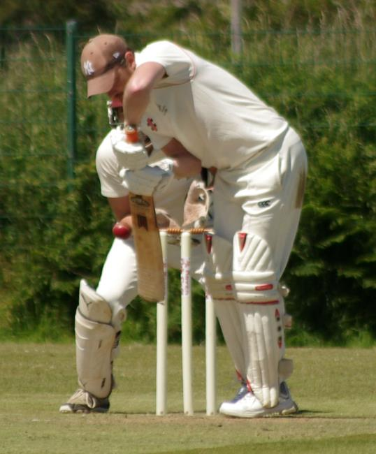 Dylan Blain - batted well for Whitland