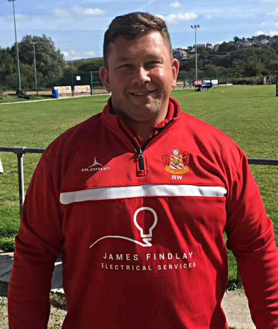 Nathan Williams - high hopes for Milford Haven