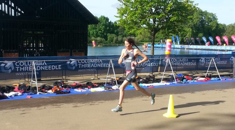 Abbie finishing strong for GB