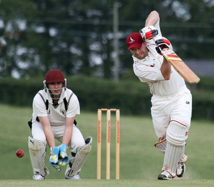 Adam Chandler cracked a sparkling undefeated century for Cresselly