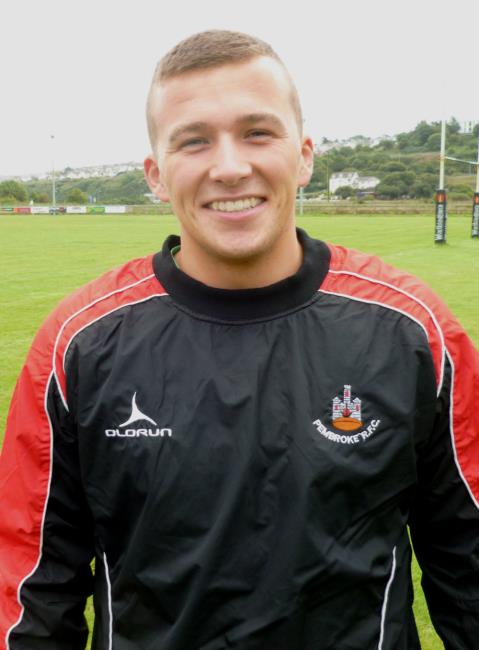 Alex Thomas - man of the match for Pembroke