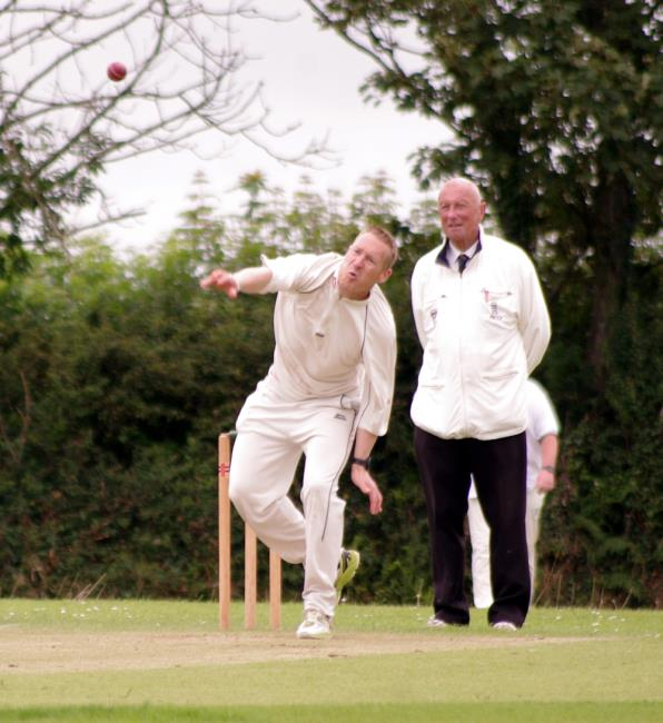 Jamie White - bowled well for The Dock