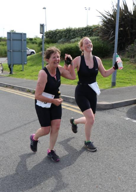 Fishguard Leisure Centre started the Go Tri series in style