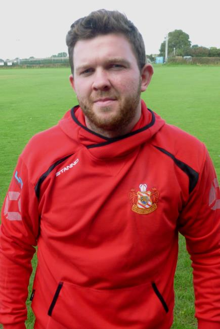 Archie Smithies - try for Milford second row against Neyland