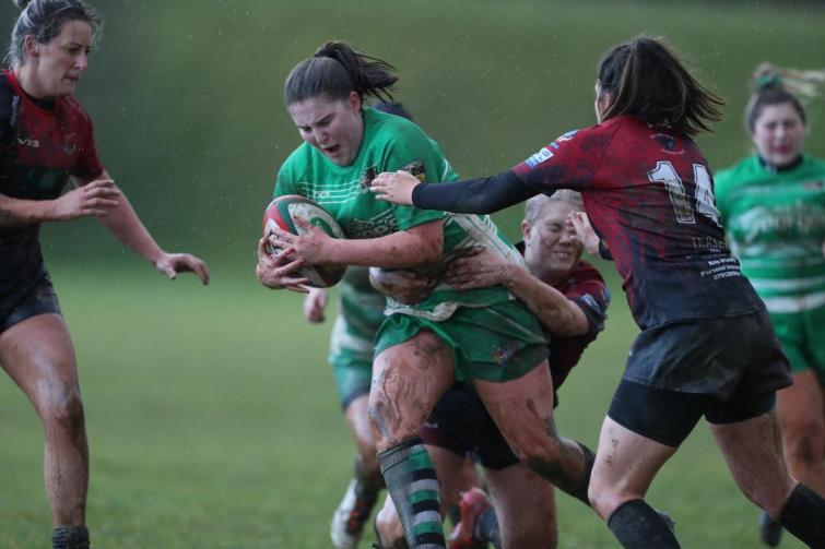 Whitland Ladies beat Bonymaen