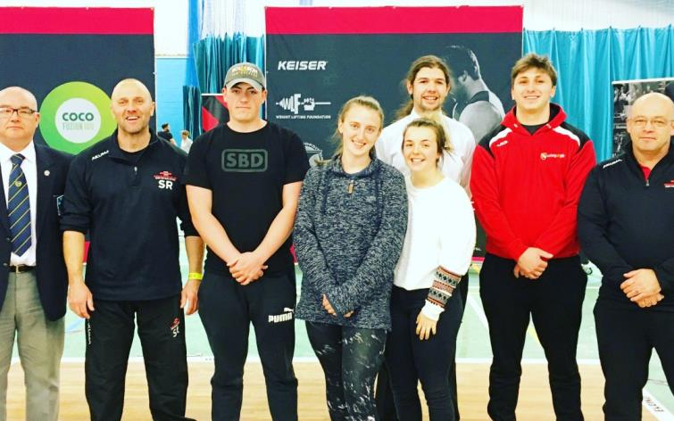 Athletes and coaches from Pembrokeshire taking part in 2019 British Championships
