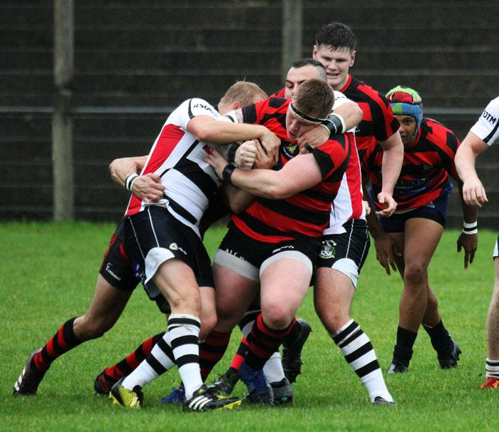 Tenby compete strongly for possession