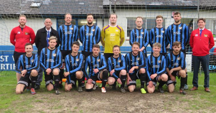 Third Division Cup winners Broad Haven