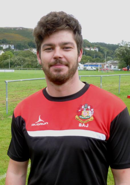 Barry Alderman-John - in try-scoring form for Pembroke