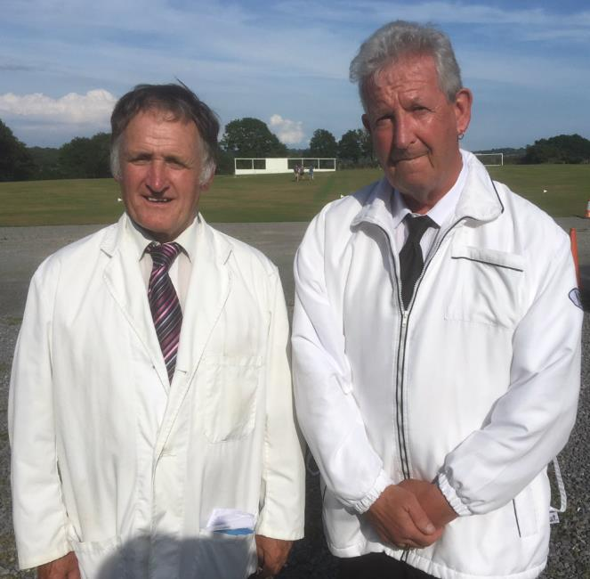 Bob Elliott and Tony Walsh