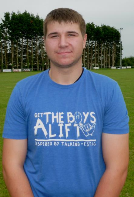 Carl Busch - one of many Haverfordwest try scorers