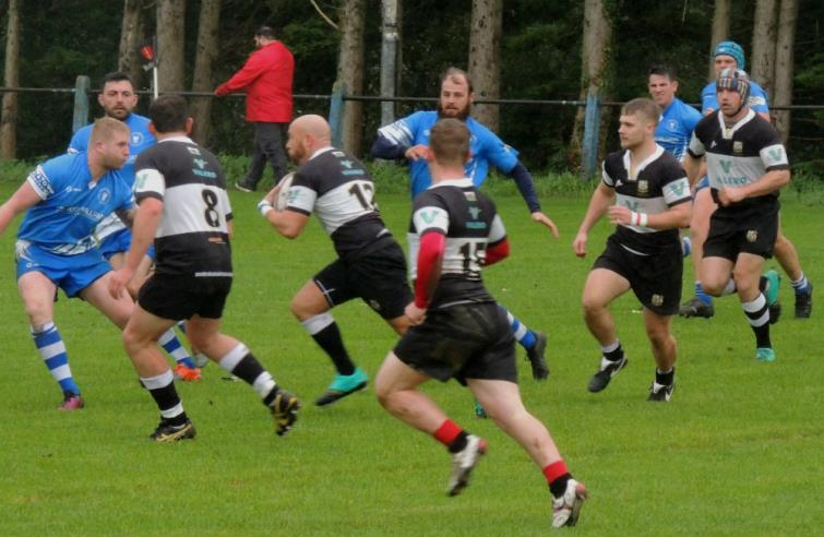 Carl Williams on the charge for the Quins
