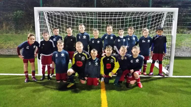 The county U11s squad v Carmarthenshire (away)