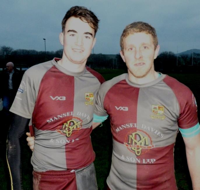 Hari Williams and Gareth Davies kicked the points for Crymych