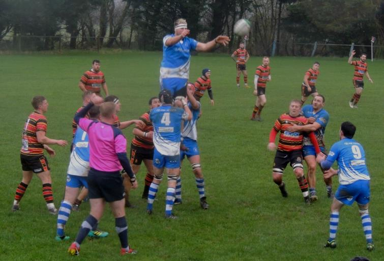 Haverfordwest secure clean lineout possession