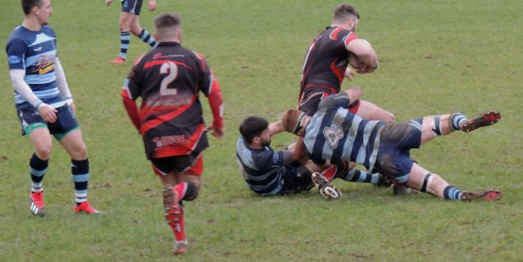 Excellent tackling from the Otters
