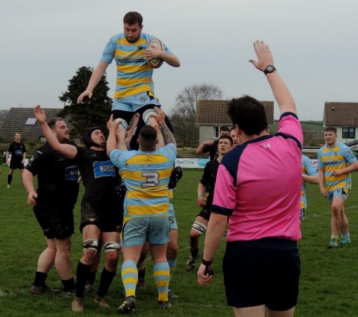 Laugharne seal lineout possession