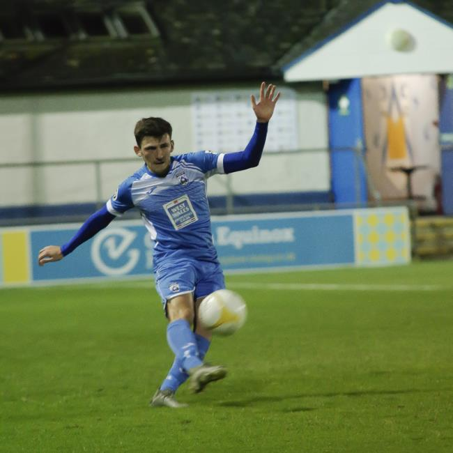 New signing Dan Summerfield in action. Picture by Matthew Kelly of Rawphotography