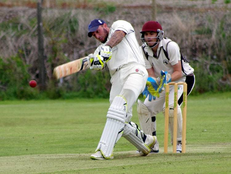 Daniel Sutton scored a superb 123 for Johnston