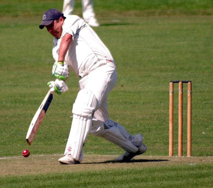 Town skipper Danny Potter struck a superb ton