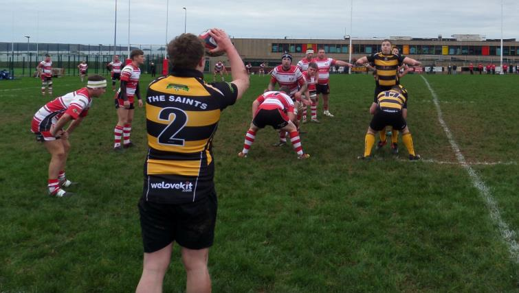 Lineout action at the Obs