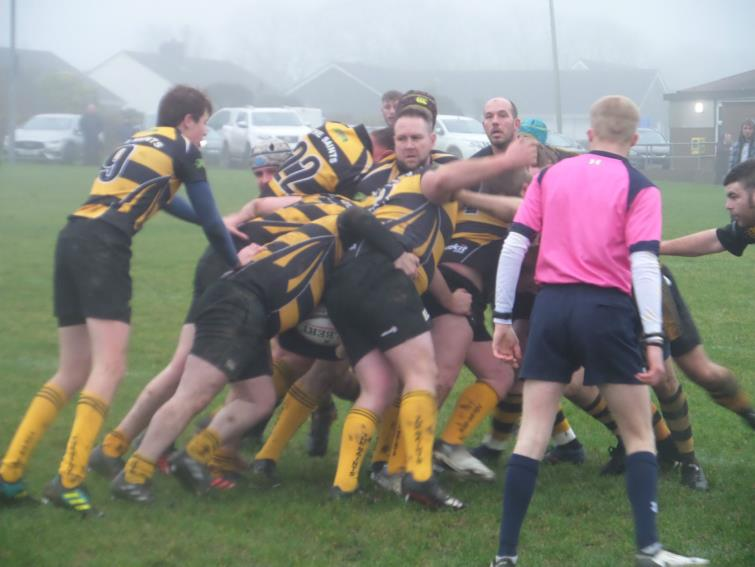 Close-up action as Llangwm beat The Saints