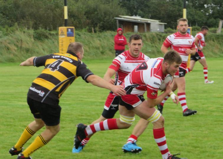 Milford Haven plough forward against the Saints