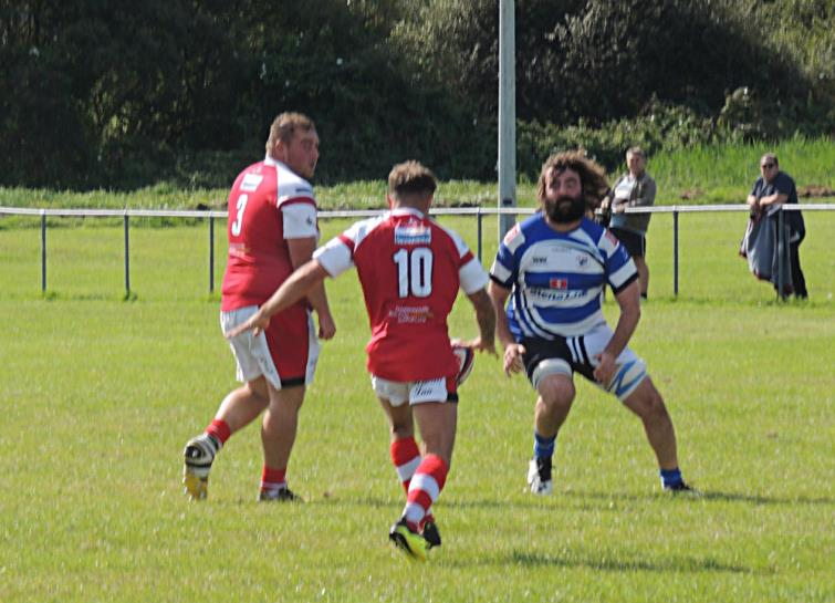 James Trueman chips ahead for The Mariners
