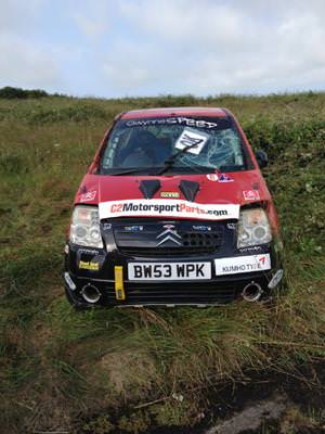 Fraser gets fired up for rallying