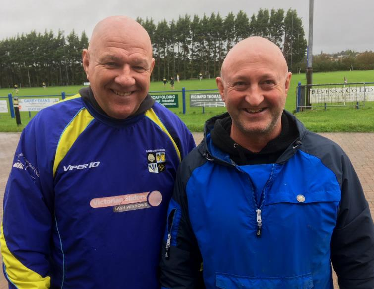 Gary Price and Steve Barnett - old rivals nor against each other as coaches