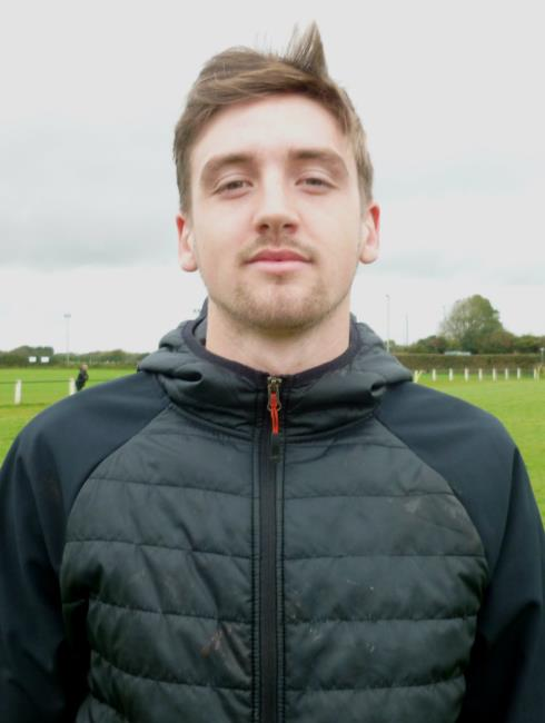 George Williams - scored only try of the match for Neyland against Llangwm