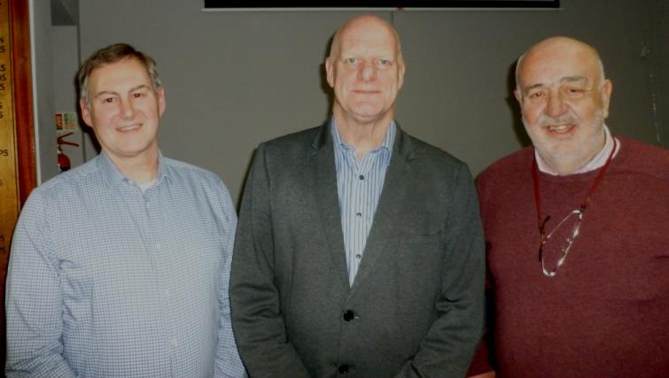 Gordon Thomas, Phil Steele and Bill  Carne