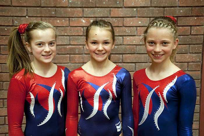 Local gymnasts tumble to success
