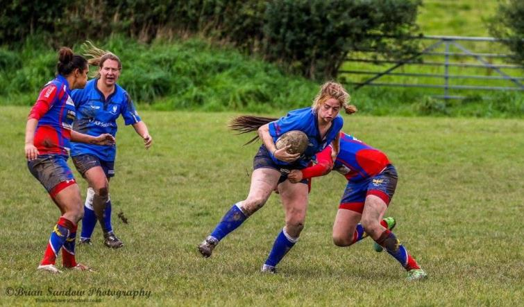 Blues Ladies on the attack