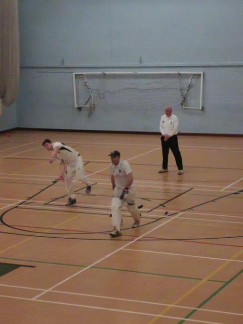 Henry Durrant bowling