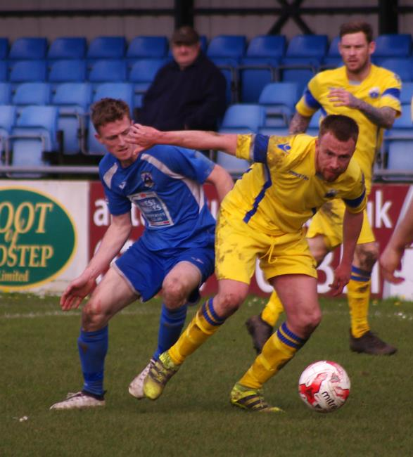 Rhys Dalling bagged two goals in The Bluebirds' win