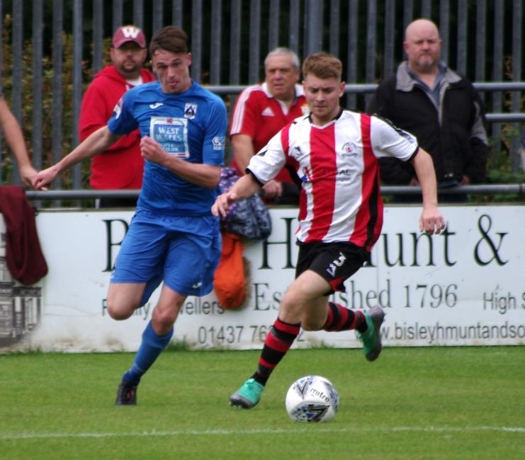 Jack Wilson was on target for the Bluebirds with the third goal