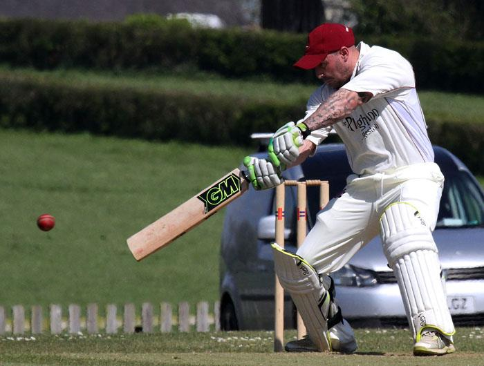 Dan Sutton cracks a superb ton for Cresselly