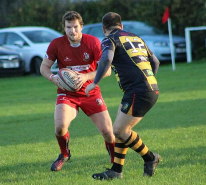 Toby Smith looks to attack for Pembroke