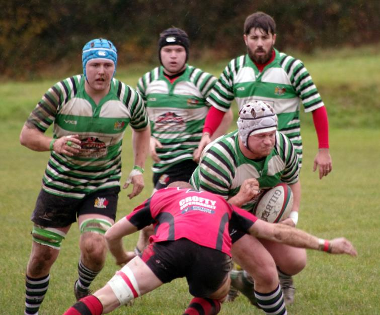 Jack Mason powers forward for Whitland
