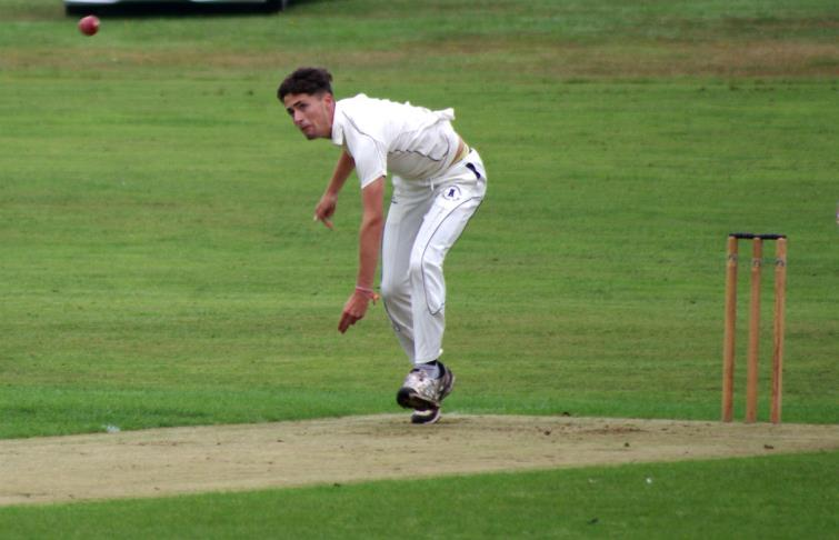 Johnny White was the leading bowler in county
