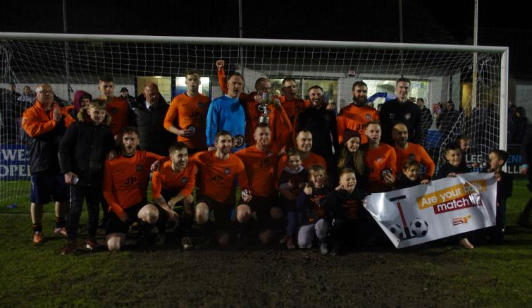 Second Division Cup 2019 winners Johnston